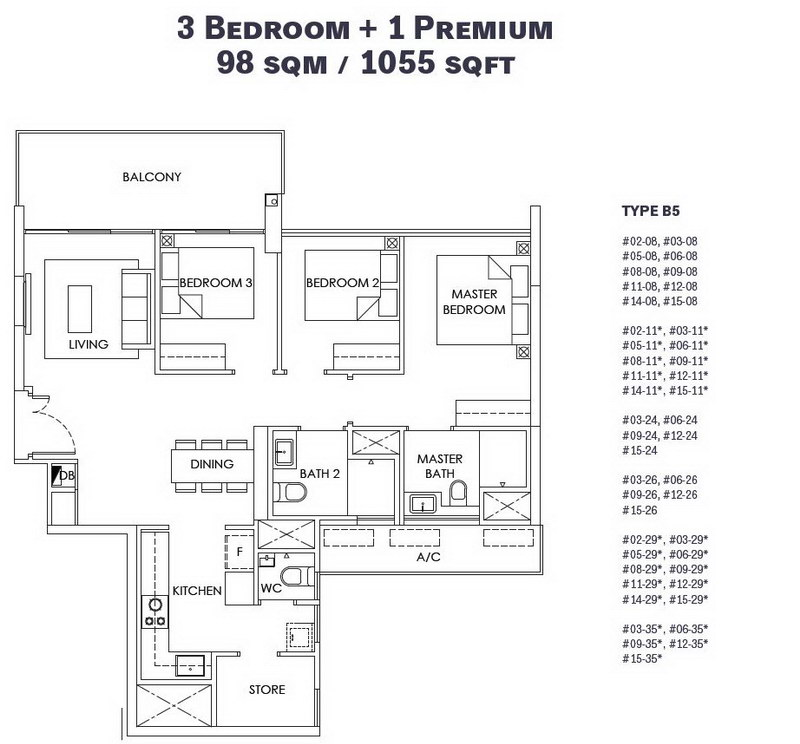 OLA EC 3 Bedroom Premium