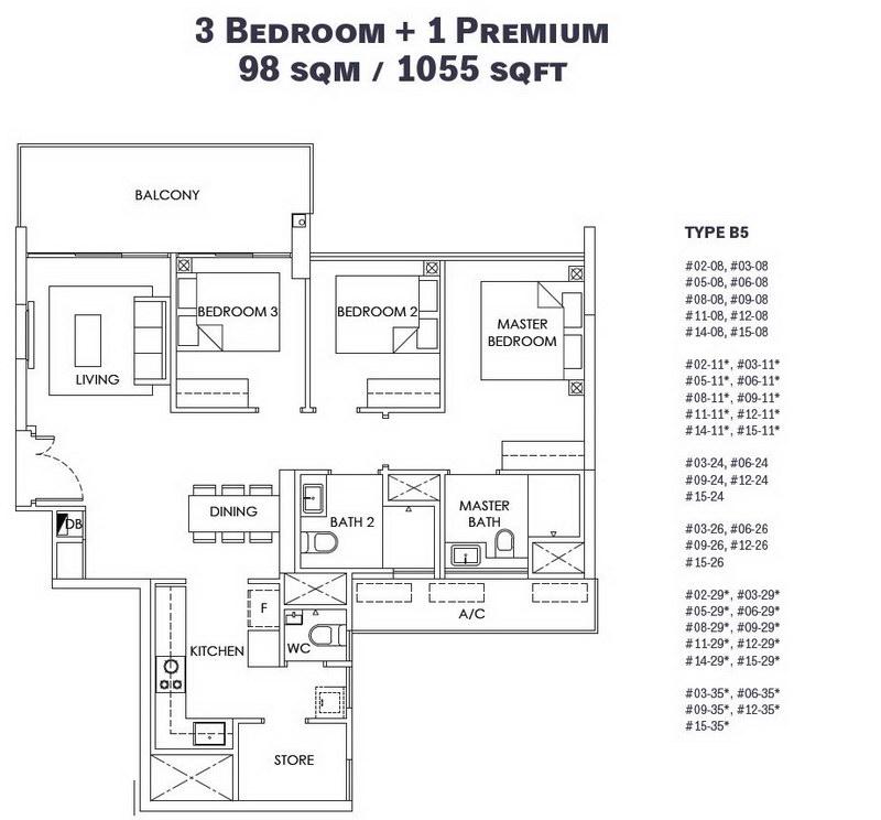 OLA EC 3 Bedroom Premium