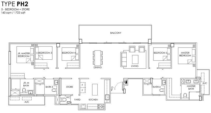 OLA EC 5 Bedroom